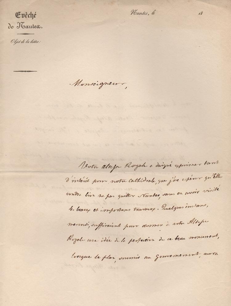 [FRANCE] Jean-François de Herce  (1776-1849)