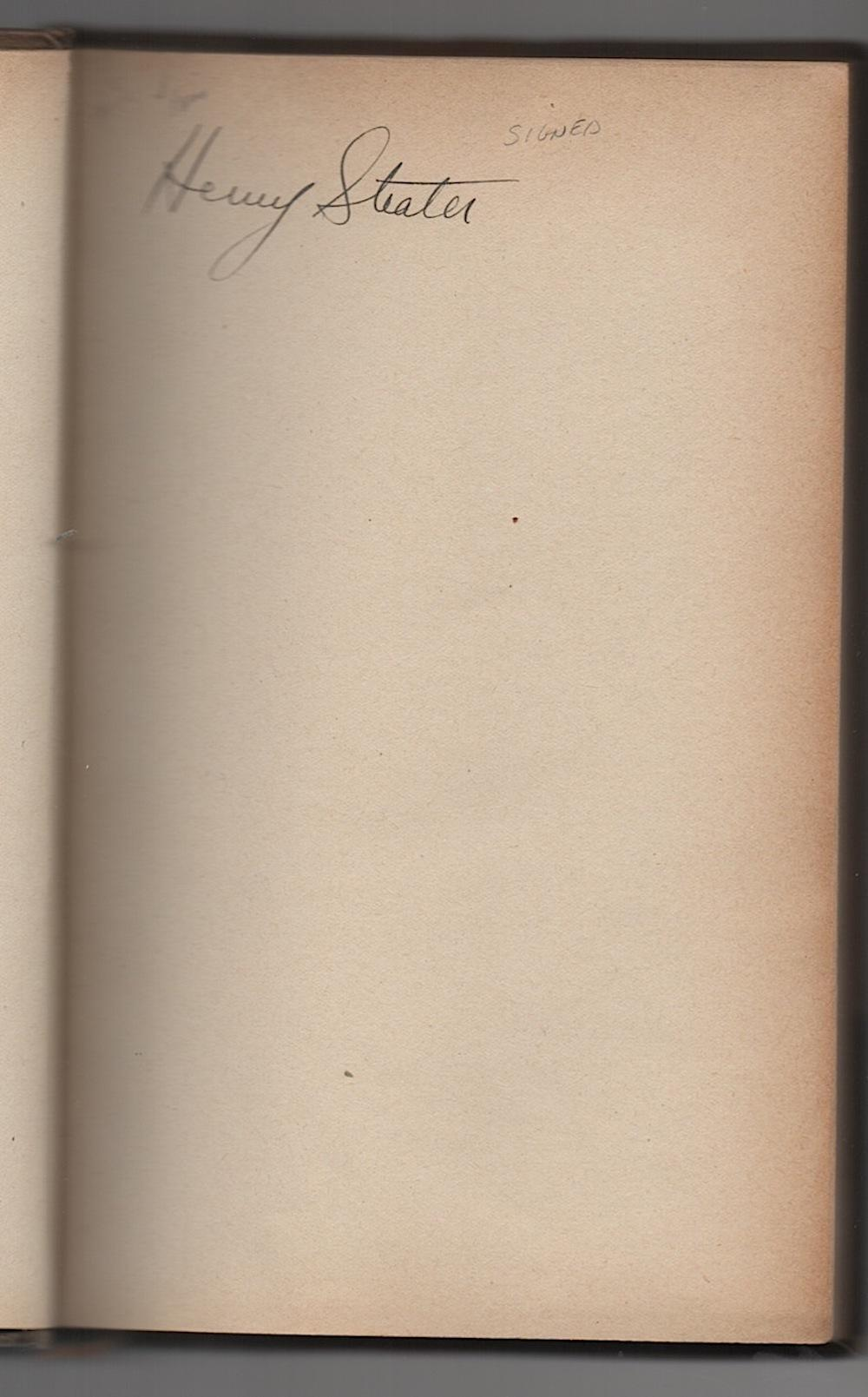 1924 LES ENTRETIENS DE NANG TANTRAIL signed by Henry Strater