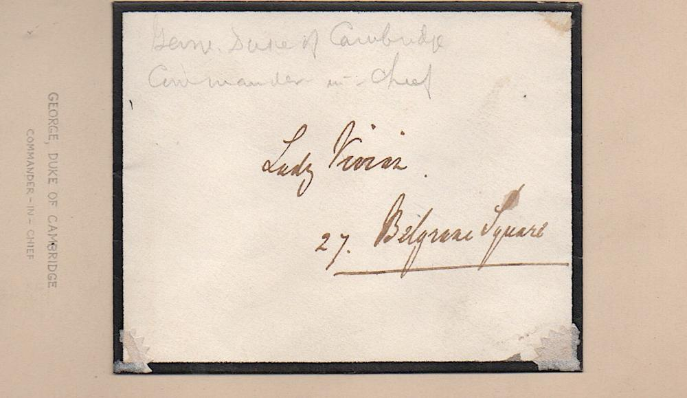 George, Duke of Cambridge addressed envelope