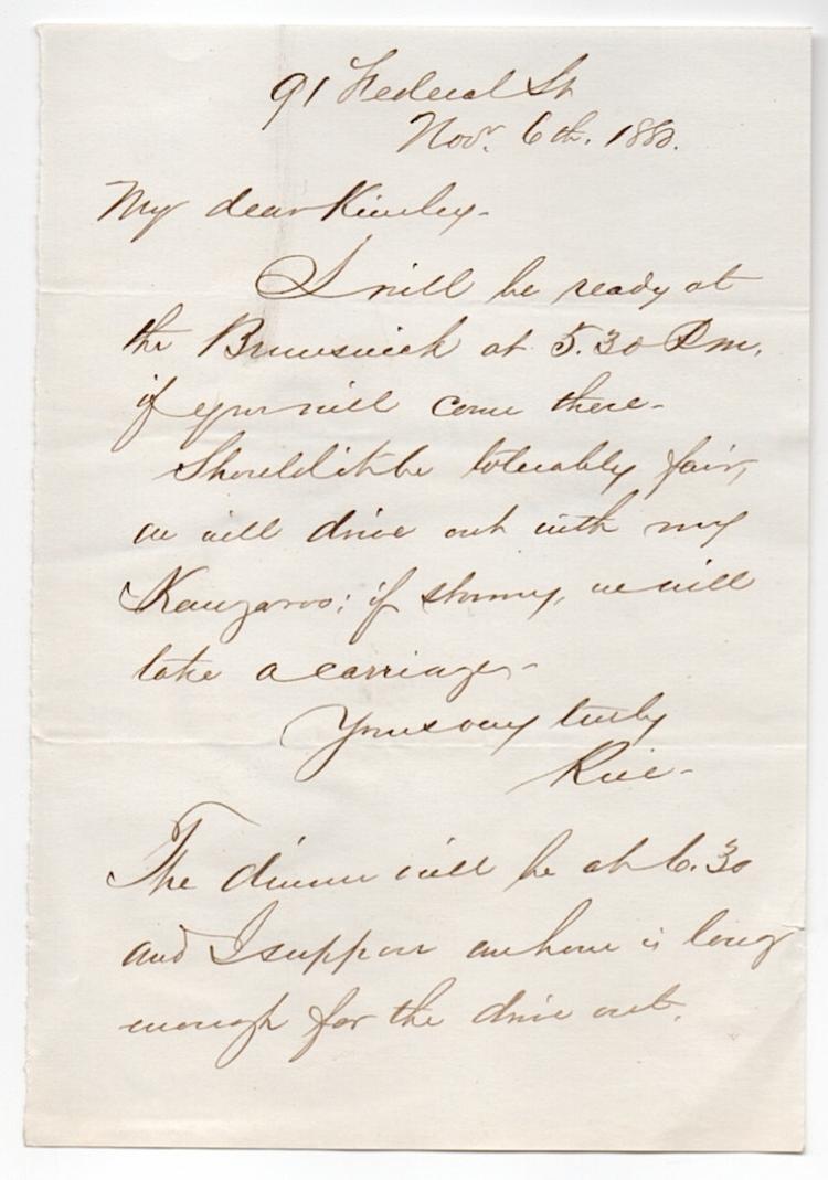 Gov. of Mass. Alexander H. Rice