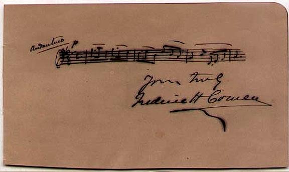 Sir Frederic Hymen Cowen [1852-1935] British Composer