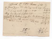 Calais, Maine, 1797 document