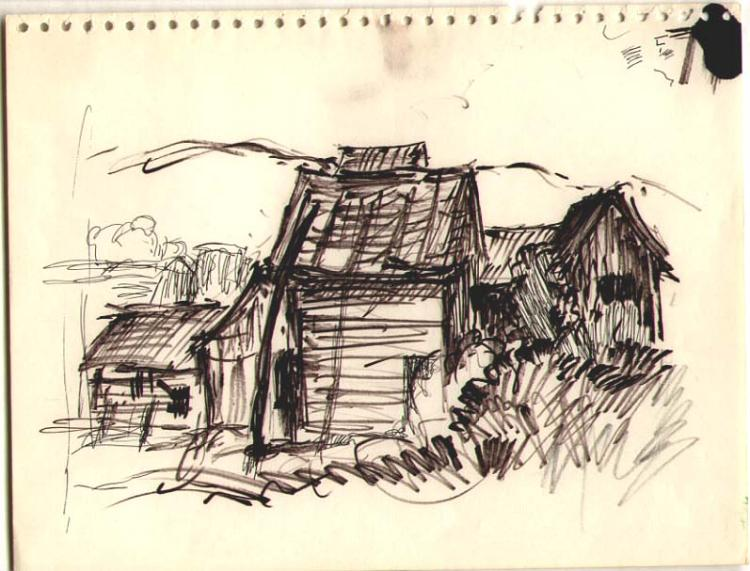 ROY C. FOX [1908-1993] 8 drawings