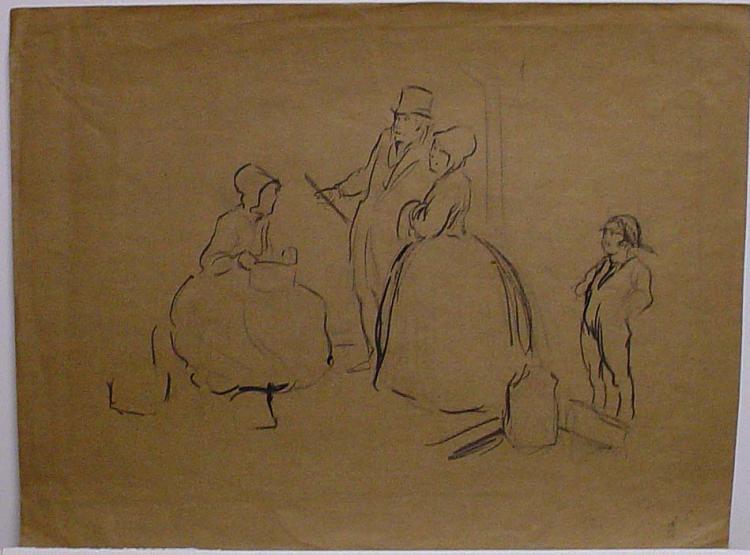 ALBERT STERNER (1863-1946) Drawing