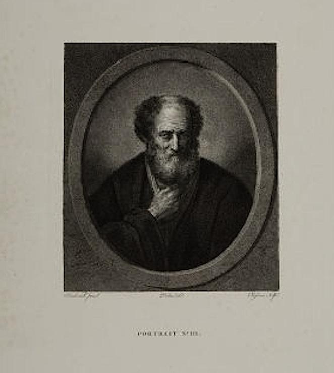 Lambert Antoine Claessens (1764-1834) Flemish engraver