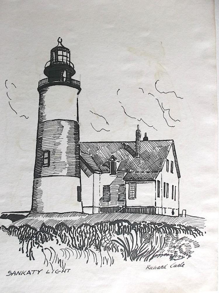 RICHARD CARLE - New England artist