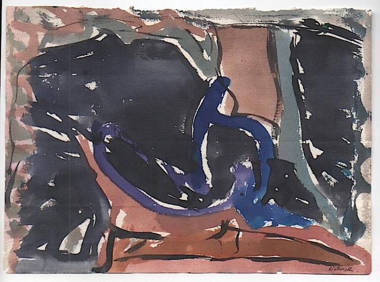 SLOTNICK - Maine Artist #4145