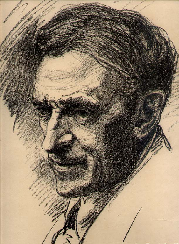 ALBERT STERNER (1863-1946) Original lithograph