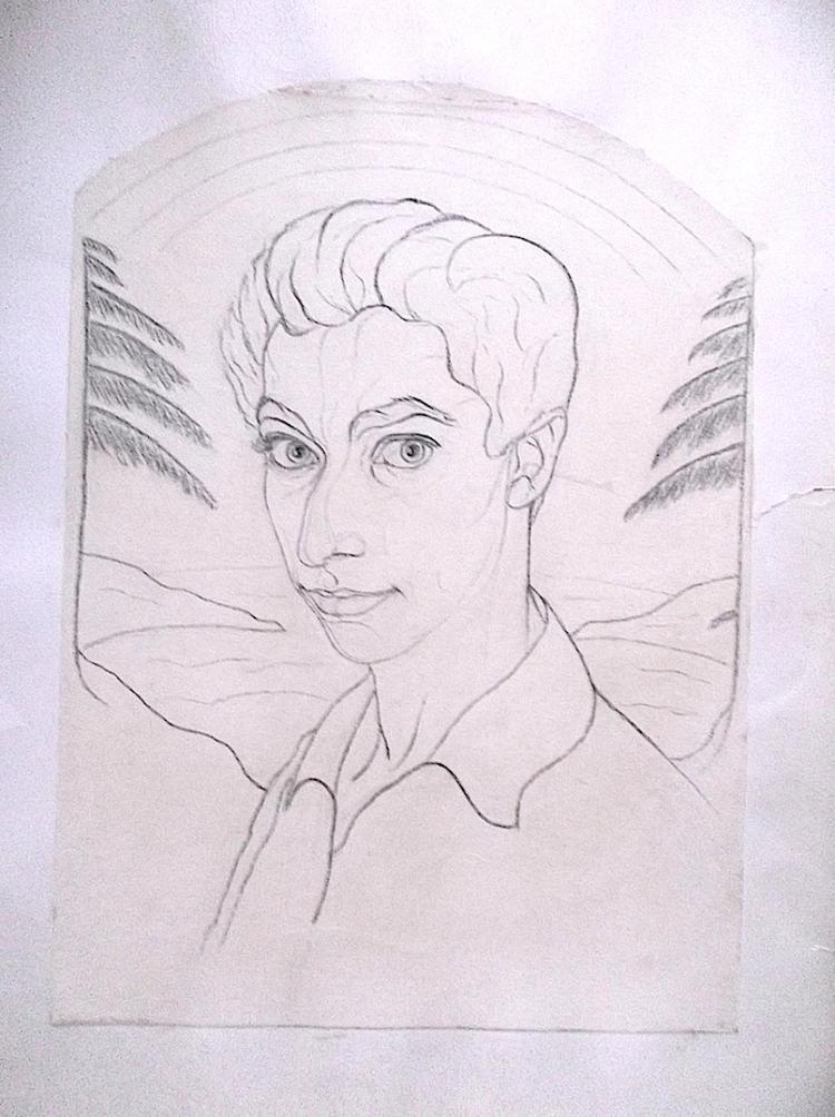 Solomon Self-Portrait 1917