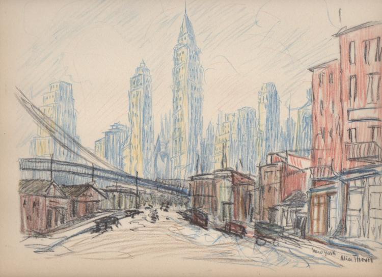Alice Thevin (d. 1937) New York City