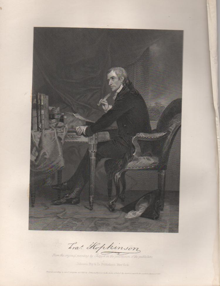 Francis Hopkinson (1737-1791) New Jersey Signer