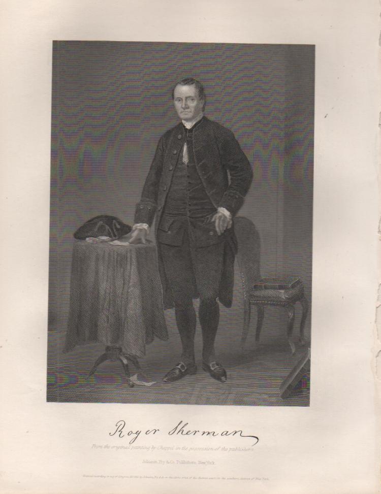 Roger Sherman (1721-1793) American Statesman