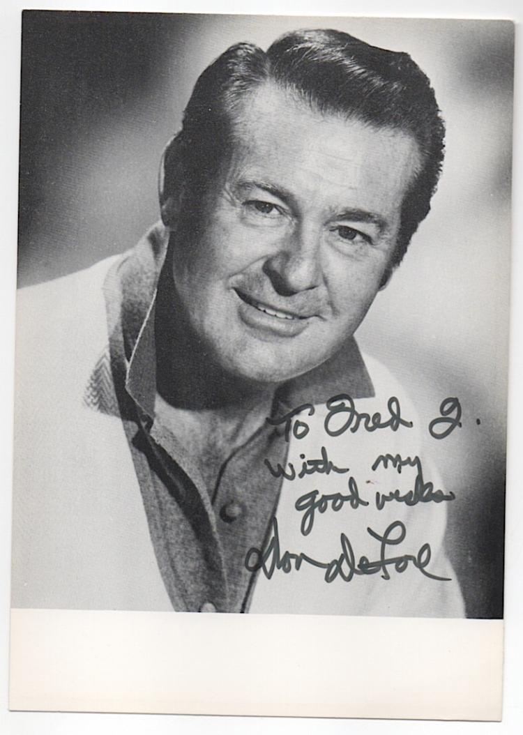 Don DeFore (1913-1993) American Actor