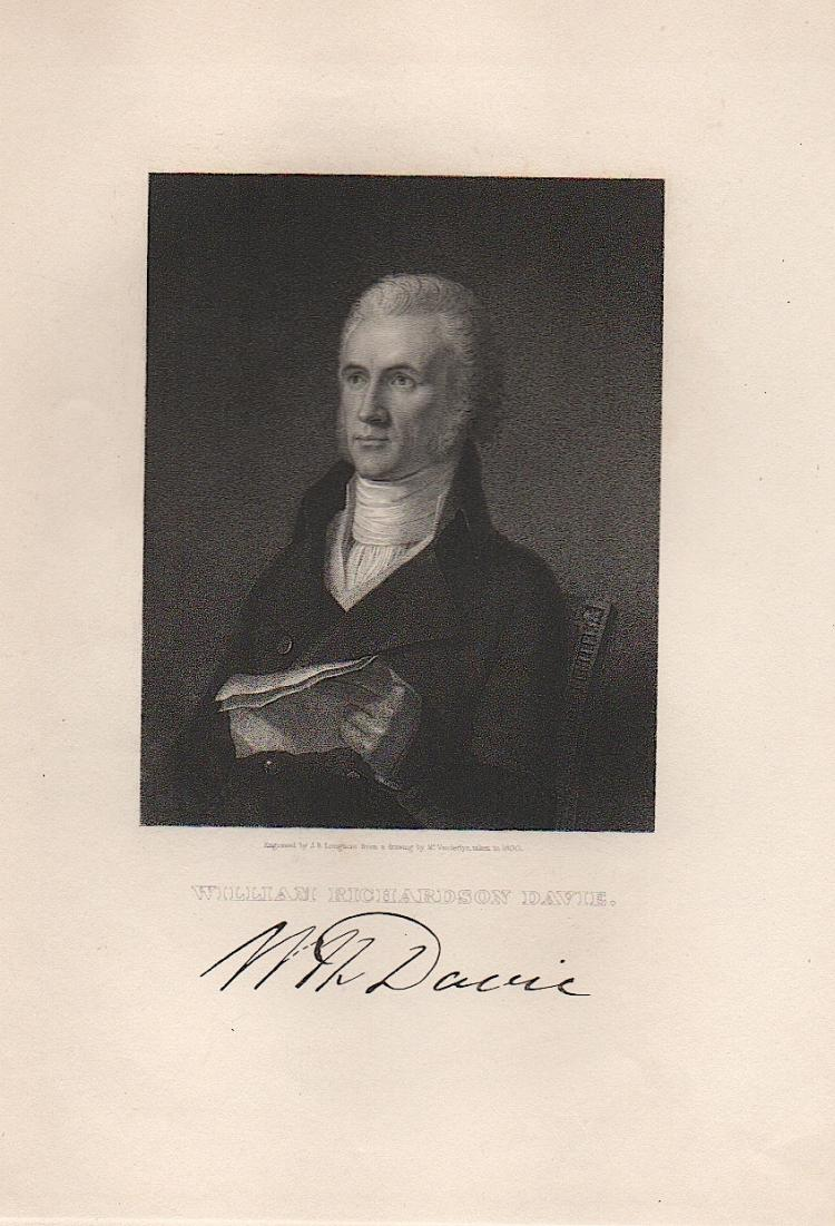 William Richardson Davie - Gov. N.C.