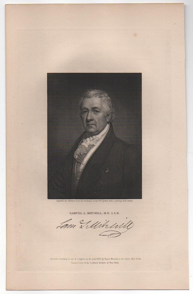 Samuel Latham Mitchill (1764-1831)