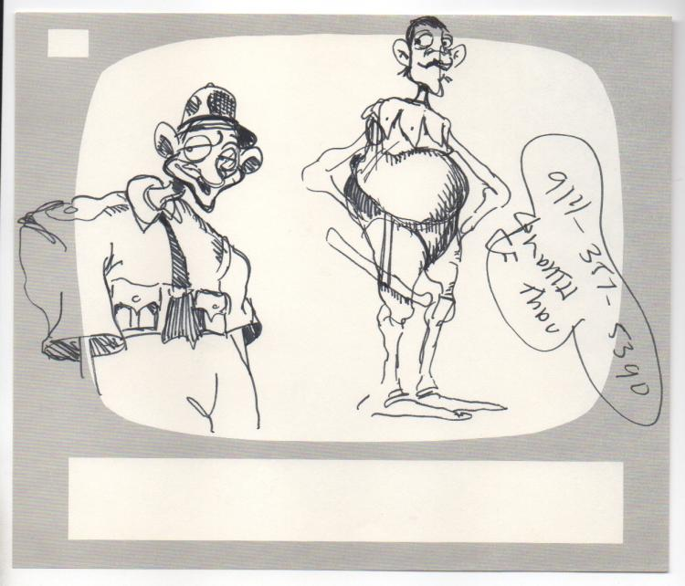RALPH BAKSHI drawing