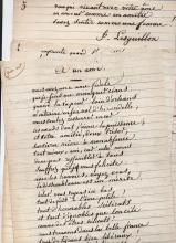 Lesguillon  (1800-1873) French  poet