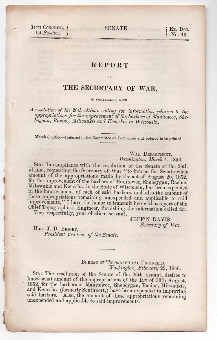 Jefferson Davis - 1856