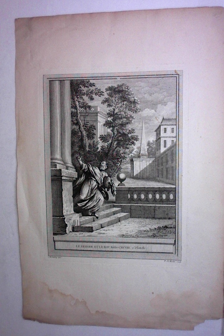 Pierre-Etienne MOITTE (1722-1780) French Engraver