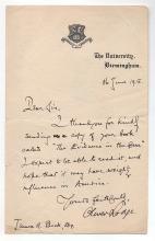Oliver Joseph Lodge  (1851-1940)  British physicist