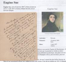 Eugene Sue (1804-1857)  French novelist