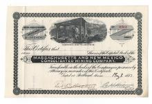 MASSACHUSETTS & NEW MEXICO CONSOLIDATED MINING CO