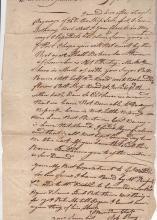 Georgia Continental Navy - Job Pray 1781