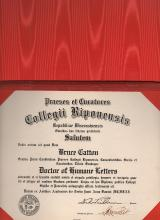 Bruce Catton  1954 Doctor of Letters Ripon College