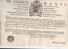 [RELIGION] circa 1829 Italian document