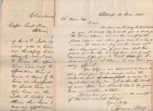 Capt. Richard Howe  (1799-1872)  Archive