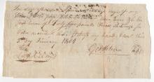 1801 Kentucky Pioneer Document