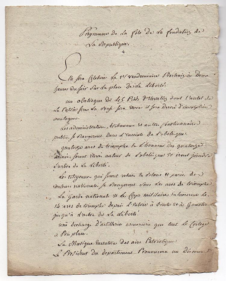 an overview of the role of louis xvi in the french revolution Louis xvi, and the french revolution constitution which rested upon louis' acceptance of his limited role was brother of louis xvi who was.
