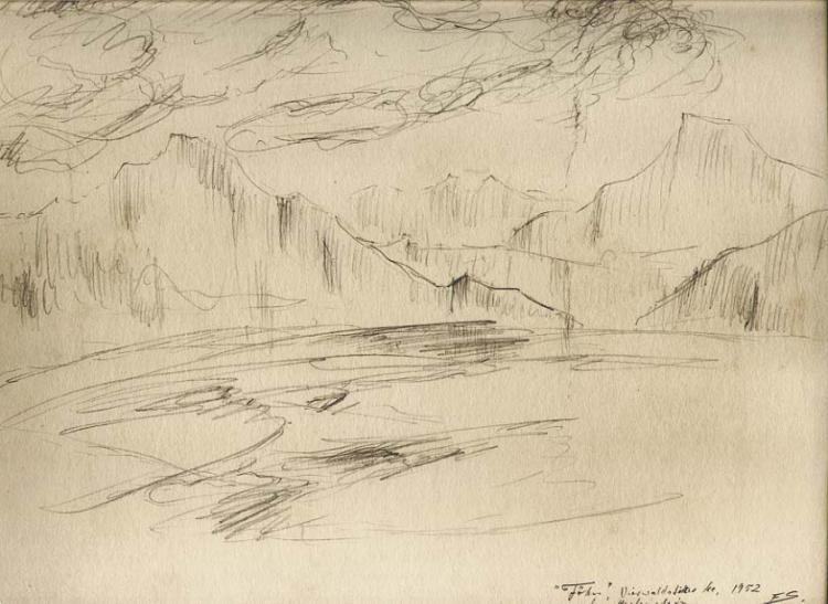 SOLOMON (1899-1980) German Expressionist artist
