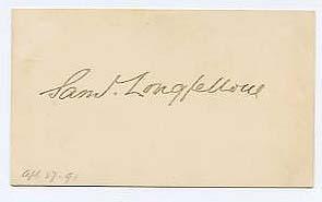 Samuel Longfellow (1819___1892)
