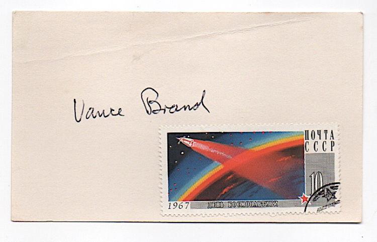 Vance Brand - American astronaut