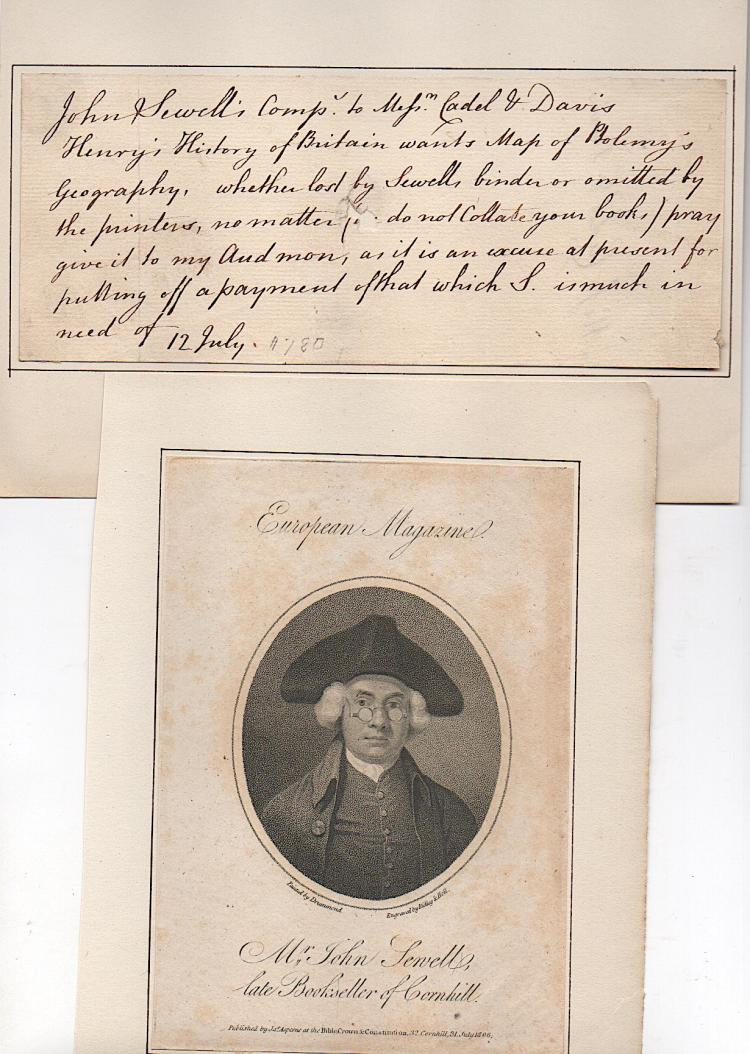 John Sewell (1735_1802) English bookseller, printer, and publisher