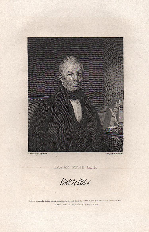 ASHER B. DURAND PORTRAIT OF JAMES KENT