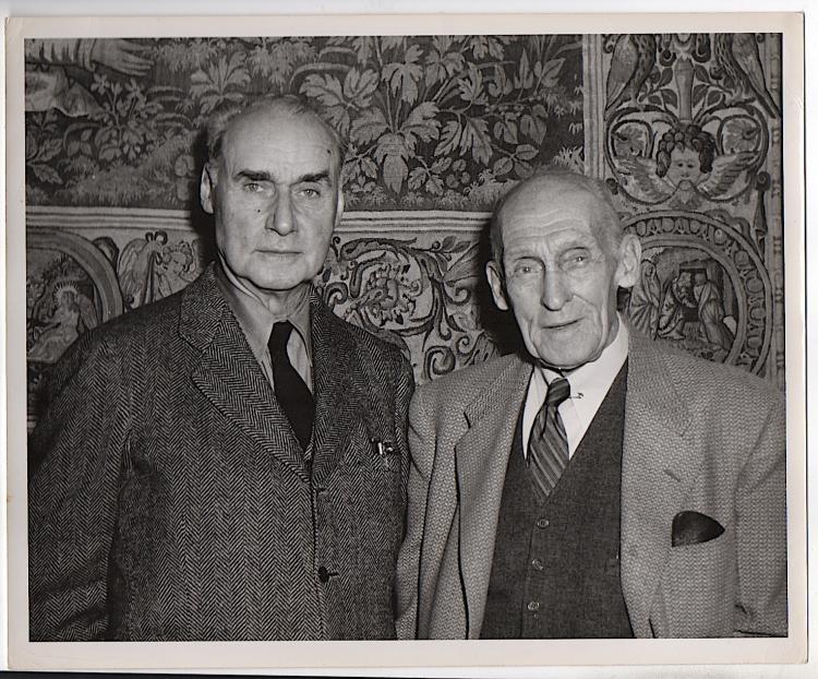 Photograph of Walt Kuhn