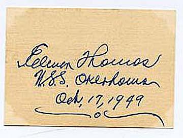 Senator from Oklahoma Elmer Thomas