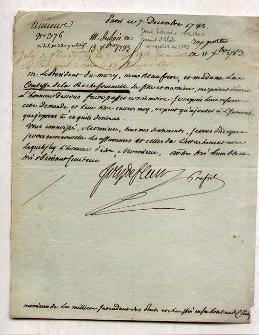 Joly De Fleury [1718-1802] State councillor