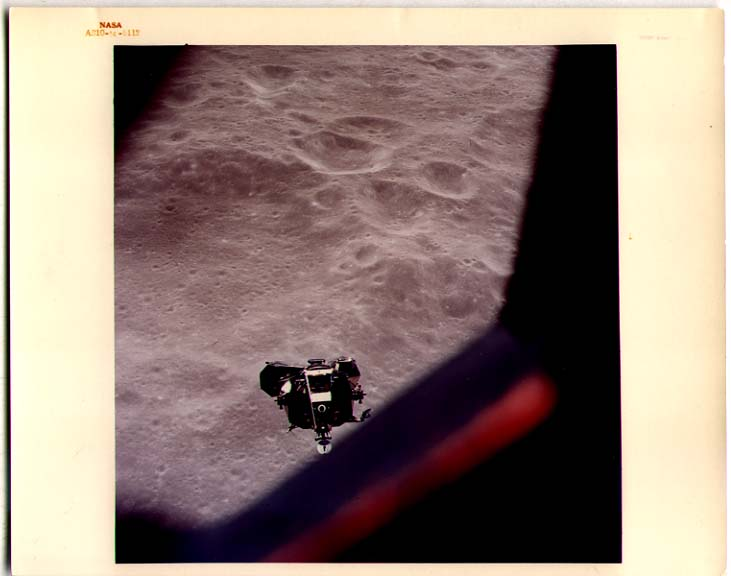 [SPACE PHOTOGRAPHY] In 1969 Apollo 10