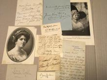 Autographs, Historical Paper,  Ephemera & Art On Paper