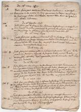 17th century French Mystery document