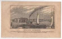 1868 View of Camden, New Jersey