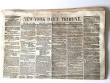 Daniel Webster Funeral 1852
