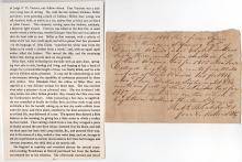 1817 Kentucky Pioneer Document