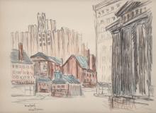 Alice Thevin (d. 1937) New York City Scene