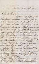 [CIVIL WAR]  J. E. COLSON - 25th Mass. Treasurer