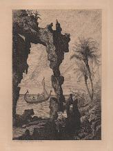 Tancred Abraham ( 1836-1895 )  French Etching