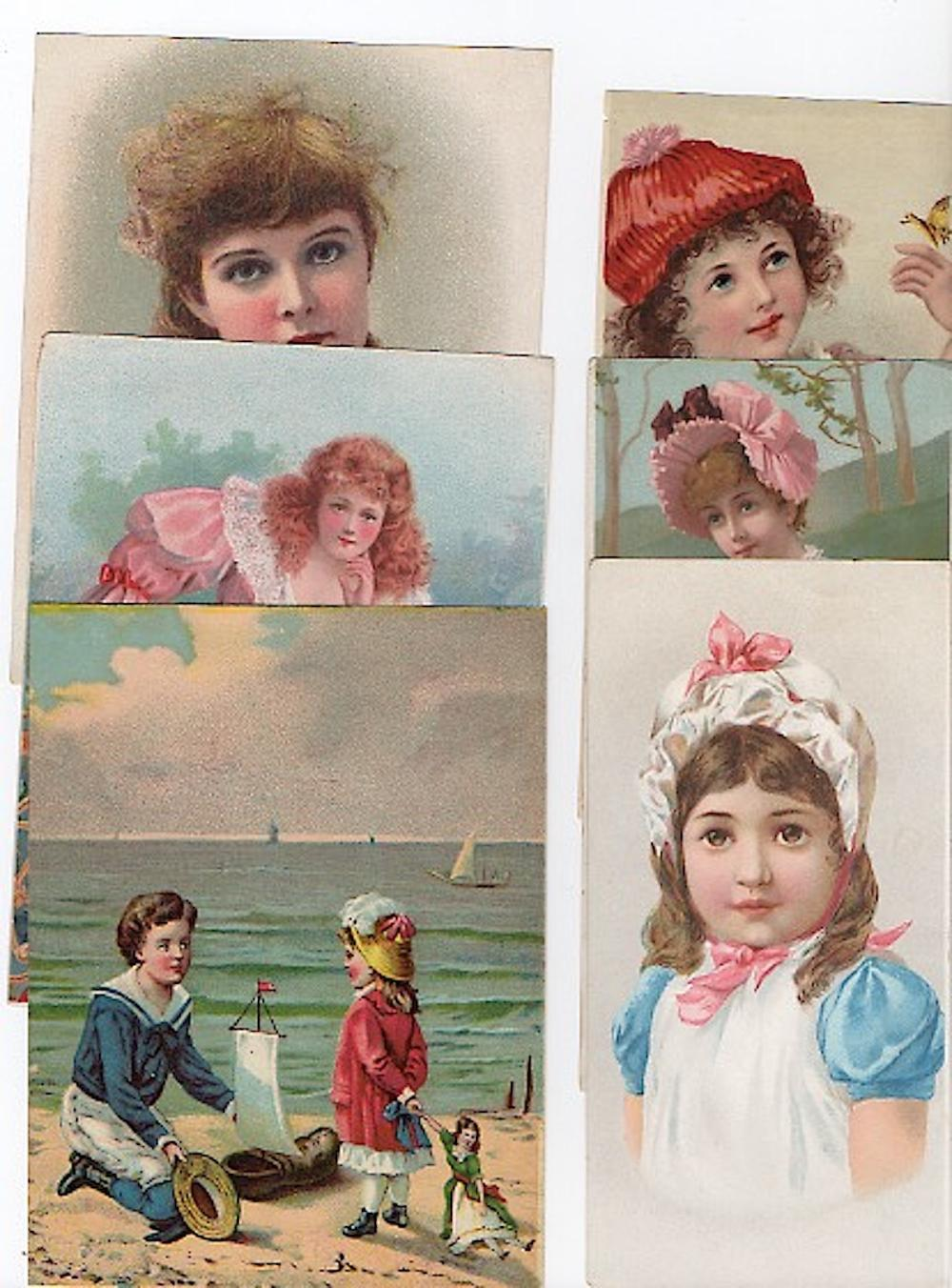 Collection of 10 Chromo Lithos from the 19th century